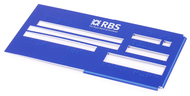 Braille Signs Braille Bank Cheque Book Templates Braille